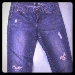 GAP skinny distressed jeans- size 4
